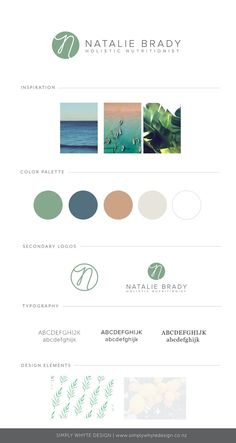 Natalie Brady Brand Board - Simply Whyte Design, Graphic and web Design Auckland Web Design, Logo Design, Living Room Lighting Design, Marketing Digital, Content Marketing, Wood Interior Design, Room Interior, Small Space Design, Brand Style Guide