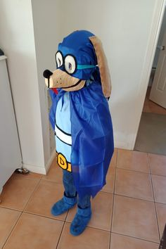 Hey!!! Dog Man fans!!  , Here I will teach you how made this amazing costume from home with really cheap material!!!! Come and visit me in my YOUTUBE CHANNEL and you can watch step to step!  #dogman #dogmanbook #dogmancostume #costume #davpilkey Costumes Kids, Cool Costumes, Halloween Costumes For Kids, Halloween Ideas, Dog Man Book, Book Week Costume, Man Crafts, Man Party, Man Birthday