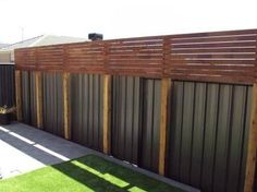 Big Impact Landscaping - Screens and Gates Garden Privacy Screen, Privacy Fence Designs, Outdoor Privacy, Privacy Screens, Backyard Retreat, Backyard Pergola, Backyard Landscaping, Pool Fence, Pergola Kits