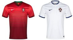 Portugal's T shirts for 2014 FIFA World Cup - Brazil