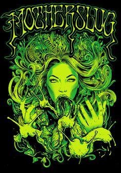 GREEN by Rafal Wechterowicz, via Behance