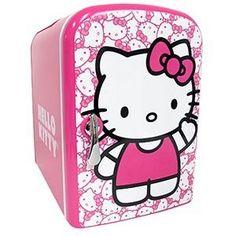Hello Kitty Personal Mini Fridge, Electric or Car Powered