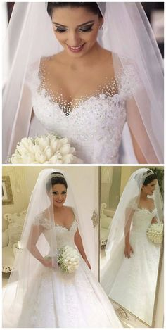 Sexy Ball Gown Princess Plus Size Wedding Dress 2016 Bride Gown Ivory Lace Wedding Dress Vestido De Noiva Vintage Casamento wedding gowns bridal dress · olesa wedding shop · Online Store Powered by Storenvy 2016 Wedding Dresses, Wedding Dresses Plus Size, Bridal Dresses, Wedding Gowns, Wedding Tips, Wedding Venues, 2017 Wedding, Backless Wedding, Dresses 2016