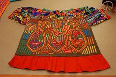Kuna mola blouse Panama