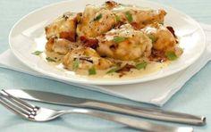 Κοτόπουλο με κρασί και κρέμα γάλακτος - iCookGreek