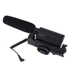 Oferta: 32.99€ Dto: -37%. Comprar Ofertas de LESHP Estéreo Video Escopeta Micrófono Entrevista Micrófono MIC de grabación de fotografía para Canon Nikon DSLR Cámara DV Vi barato. ¡Mira las ofertas!
