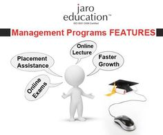 Jaro Education: Management program #FEATURES. For more inquiry visit: www.jaroeducation.org/landing