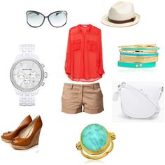 Summer in NYC, created by rosa-rodriguez on Polyvore