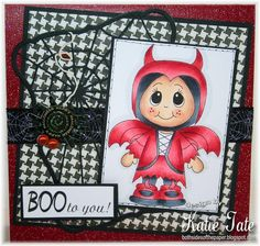 Devil kiddles stamp from www.digitaldelightsbyloubyloo.com