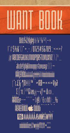 Download another cool and eclectic GAUTFONT Want Book – 282 glyphs - 4 weights #GautFonts #Hardware #Vancouver Golden Rule, Glyphs, Weights, Vancouver, Hardware, San, Cool Stuff, Retro, Books