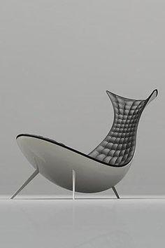 Organic Lounge Chair By Michael CK Chan
