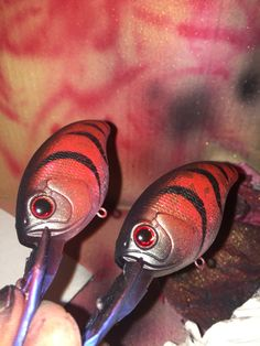 Republic Trading Co. Masterfully Crafted Crankbaits  Ghost Fire Craw in process #Reptradeco