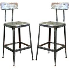 country industrial bar stool #46115