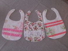 "★★★★★ ""Love these bibs! The designs are so beautiful! I ordered once I found out I'm having a girl and keeping them for once she's here in May. Thank you!"" Sumeet S. http://etsy.me/2mXBmSf #etsy #clothing #children #baby #white #pink #babysho"