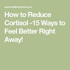 Want to know how to reduce cortisol naturally? Here are 15 proven ways to lower cortisol and feel better immediately! Using salt, magnesium, herbs, and How To Lower Cortisol, Reducing Cortisol Levels, High Cortisol, Adrenal Fatigue Diet, Adrenal Fatigue Treatment, Adrenal Health, Adrenal Glands, Gut Health, Health And Wellness