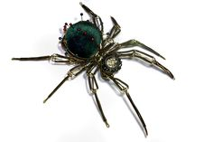 Steampunk Pin Cushion Spider - Christmas Nightmare by CatherinetteRings on deviantART