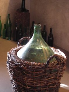 Old Wine Container, Florence, Italy