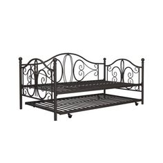 $240 Avenue Greene Bombay Metal Daybed and Trundle