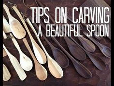 Spoon carving - Full tutorial - by Lotsofwoods.com - YouTube