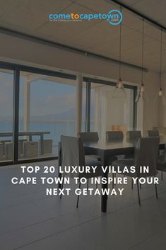 From Camps Bay to Constantia Winelands, the metropolis features a wide range of luxury villas with sweeping sea and mountain views, modern comforts and stylish decor. In no particular order, here are top 20 luxury villas in Cape Town to inspire your next getaway: