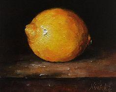 Druiven origineel stilleven olieverfschilderij door NinaRAideStudio