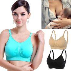 54a9ff0ed Breastfeeding Bras Maternity Nursing Bras Pregnant Women Underwear Back  Closure  fashion  clothing  shoes