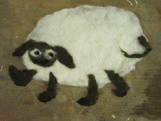 Das süße Schafe aus dem KinderMachWerk
