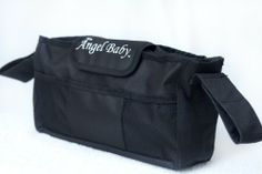 Stroller Organizer - UNIVERSAL, Black, Collapsible Accessories Buggy Baby Bag with Drink Insulated Cup Holders - DEEP Pockets for Diapers,Toys,Wipes - CUSTOM Made Caddy for iPhone/Smart phone - Fits Britax,Peg Perego,Chicco,Umbrella,Bugaboo,Baby Jogger,Graco, & More LIFETIME GUARANTEE Angel Baby,http://www.amazon.com/dp/B00HNC8SAW/ref=cm_sw_r_pi_dp_MOOEtb11Y7TE2NKE