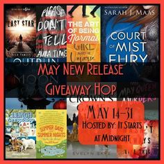 With Love for Books: May New Release Giveaway Hop