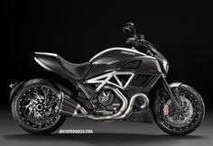 DUCATI Diavel Carbon 2015 http://www.motoprogress.com/