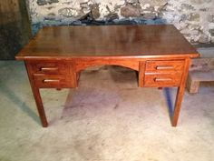 1930's Oak Desk in Antiques, Antique Furniture, Desks | eBay