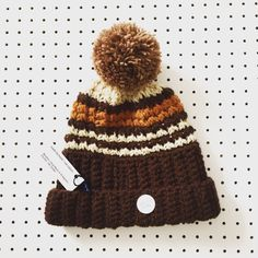 Crochet bobble in 70's inspired retro colours - by The Alley Alley Oh on Etsy  Made by Hand / not Robots in Manchester UK