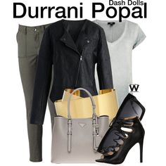 Inspired by Durrani Popal from the reality series Dash Dolls. Dash Dolls, Paige Denim, Fashion Plates, I Dress, Love Fashion, Fashion Forward, What To Wear, Style Me, Isabel Marant