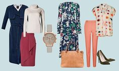 Style Sudoku: In every row - vertical, horizontal and even diagonal - you'll find office chic items that coordinate perfectly | Daily Mail Online