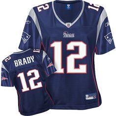 Nike Rob Gronkowski New England Patriots Youth Girls Game Jersey - Navy Blue.  See More. Reebok New England Patriots Tom Brady Women s Premier Team Color  ... 8b50172b2