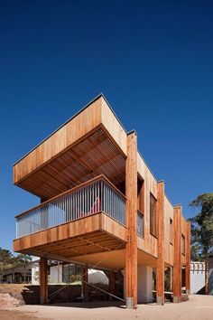 Casa en la Playa by Clare Cousins (Mornington, VIC, Australia) #architecture