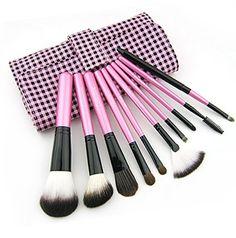 Colorshine 10 cosmetic brush set professional make-up tools makeup brush set