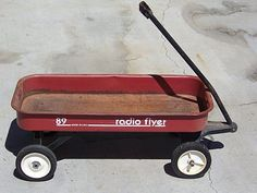 Didn't everyone have a rusty old Radio Flyer back then?