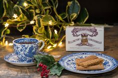 Billington's Gingerbread with Burleigh Ware
