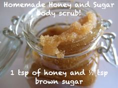 If you've ever used a face or body scrub, you'll know how amazing they are. And they're even better then they're home made! Try this DIY recipe.   First, tie your hair back, remove all makeup from the face and rinse your face with warm water. Then gently massage in this gorgeous scrub made of 1 tsp of honey and ½ tsp brown sugar to your face and neck and let it work its magic! Rinse it off, and you'll find your face glowing and smooth for the start of the week! ow.ly/uU7ON