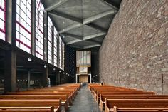 A&EB 29. Rudolf Schwarz > Church of Sta Anna, Duren