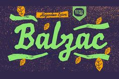 Balzac -50% by Rodrigo Typo on Creative Market