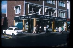 Waitrose Supermarket before it became Cotgrove's Restaurant, Southend High Street