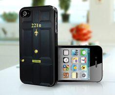 221B Baker Street iPhone cover
