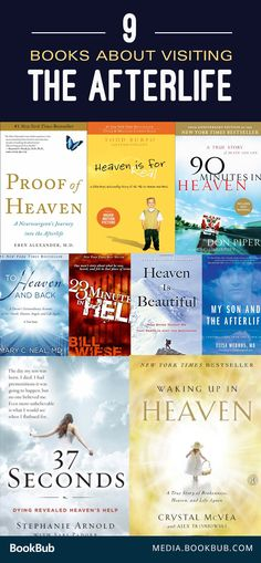 9 books about visiting the afterlife. Including moving memoirs.