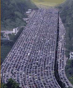 The 401 is North America's busiest highway and its Toronto-region traffic jams are infamous.