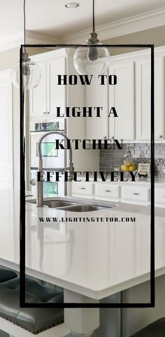 Learn how to light a kitchen and to choose the best kitchen lighting for your ho. Learn how to light a kitchen and to choose the best kitchen lighting for your home. This is an info Best Kitchen Lighting, Kitchen Lighting Design, Design Your Kitchen, Kitchen Lighting Fixtures, Interior Lighting, Home Lighting, Lighting Ideas, Downlights Kitchen, Kitchen Designs