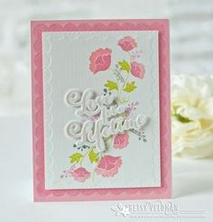 Love For A Lifetime Card by Betsy Veldman for Papertrey Ink (June 2016)