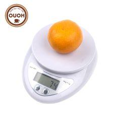 5000g/1g 5 kg Food Diet Postal Cucina Digitale Scala Scale Elettronico A LED Strumenti di Cottura del Peso di Equilibrio ponderazione MCT-17