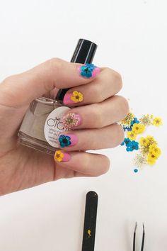 How-To: So einfach geht die #Flower #Manicure von #Ciaté